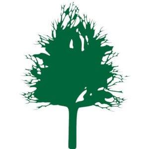 grüner Baum aus Logo Grün-Stich Gartenbau